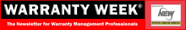 click here for the Warranty Week home page