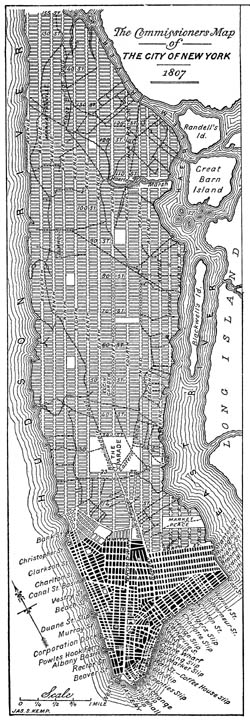 New York City, 1811 Plan