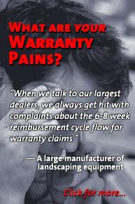 Warranty Pains