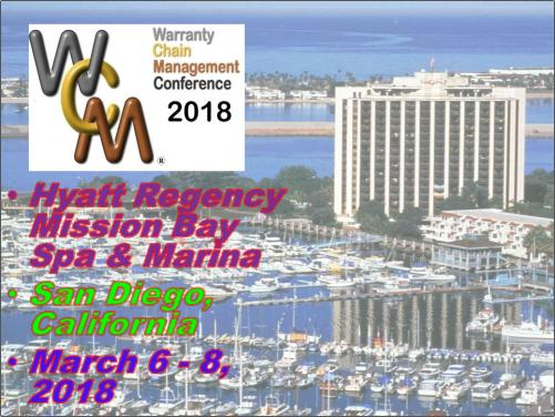 Warranty Chain Management Conference